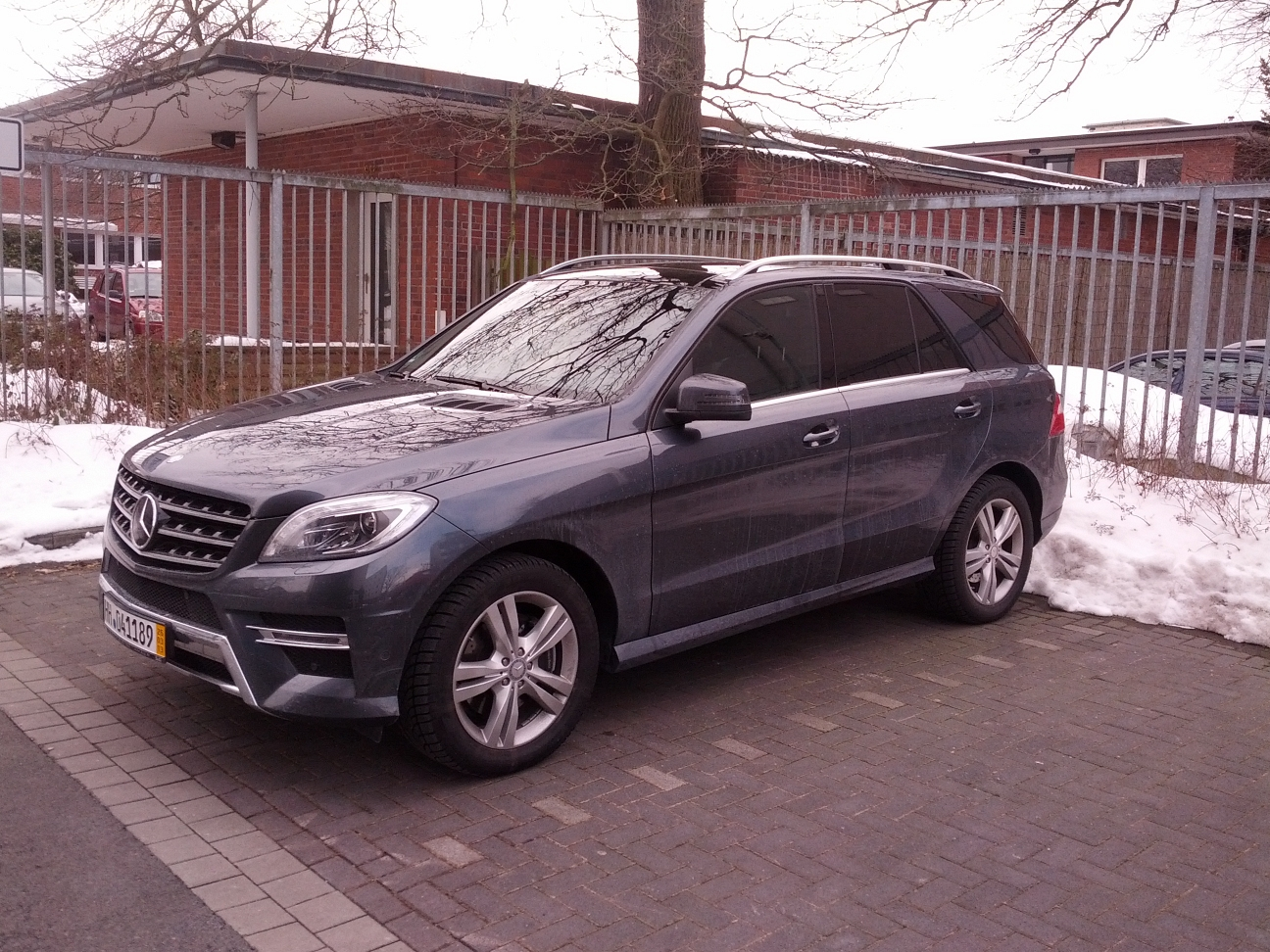 2013 Mercedes-Benz ML350 CDI Avantgarde